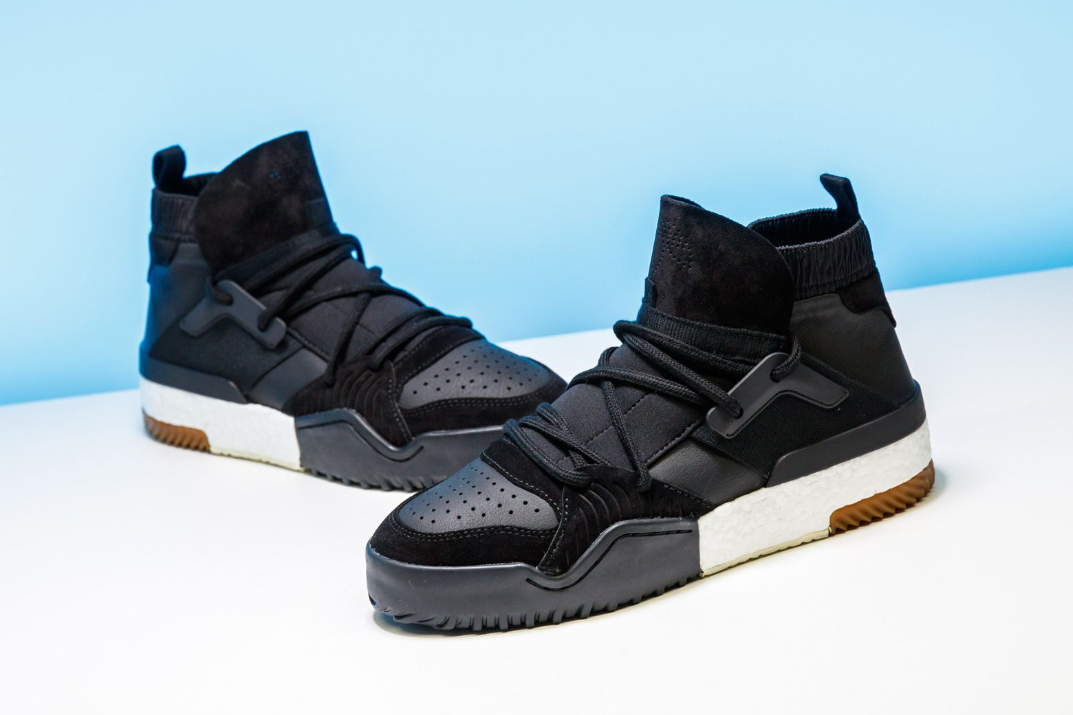 brand new dccab 08f8d From the parquet to high fashion, Alexander Wang and adidas dress up the AW  BBall