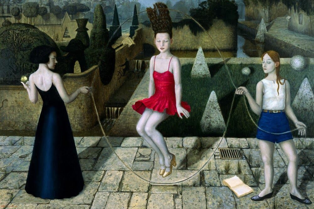 Mike Worrall , Skipping Past