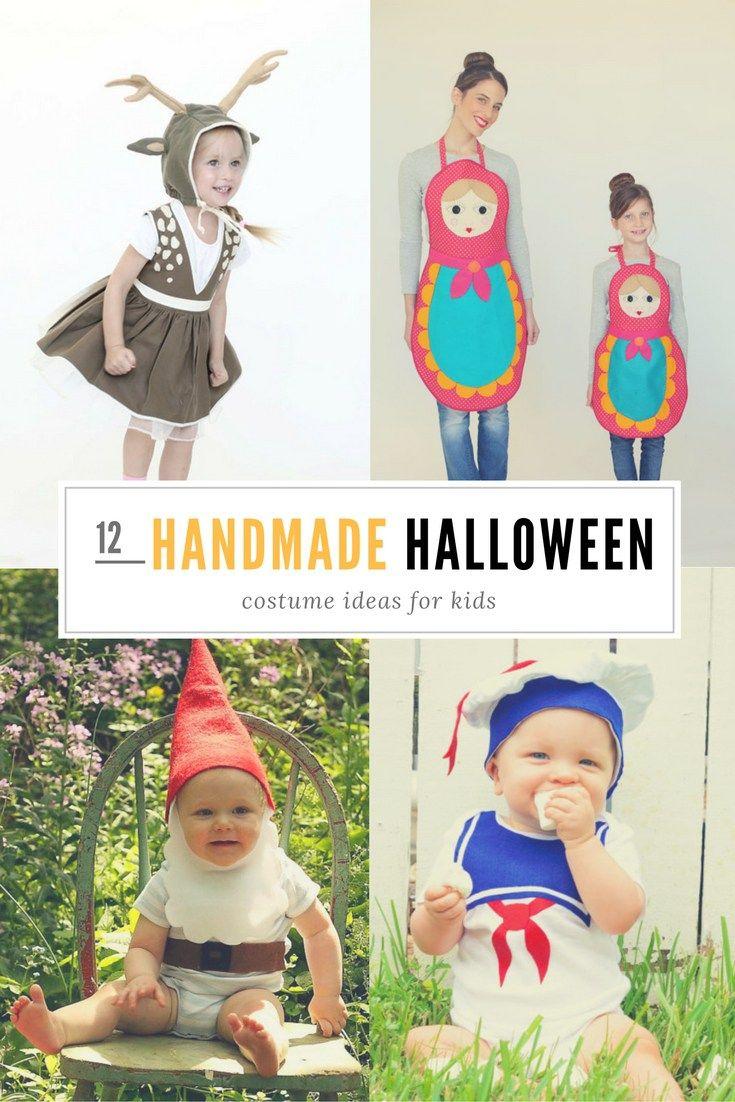 12 Handmade Halloween Kids Costume Ideas | kids | Pinterest ...