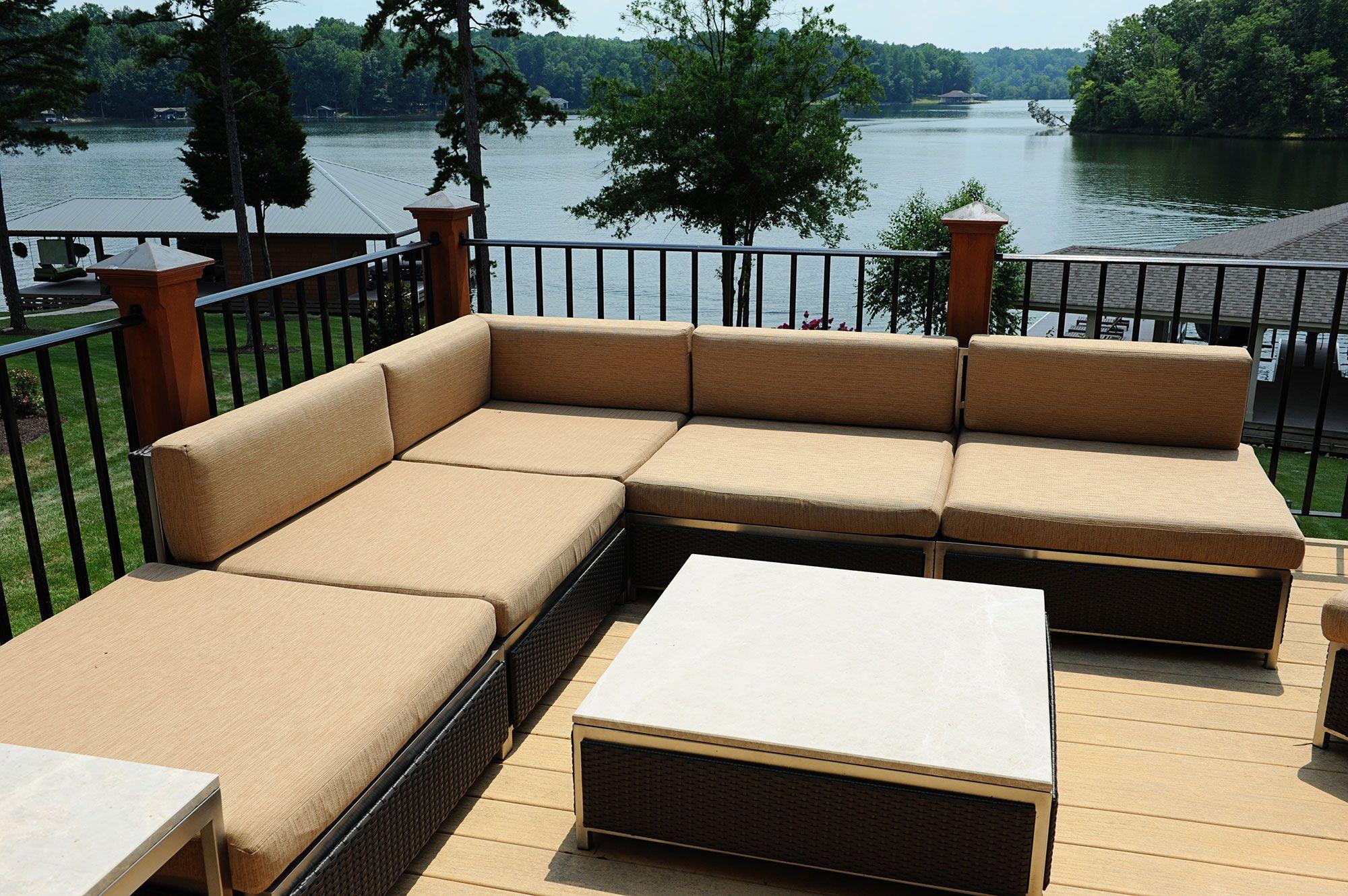 Delightful Tropitoneu0027s Cabana Club Modular Furniture And Tables With Woven Panels  Designed By Bridgett Mazer Interiors