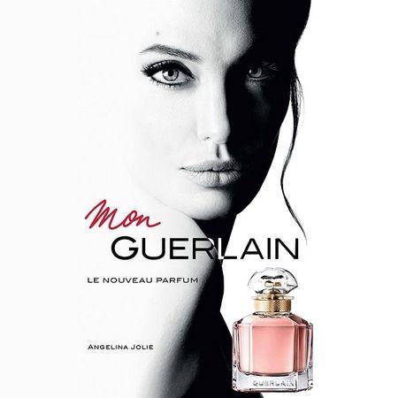Angelina Jolie dans la publicité Mon Guerlain