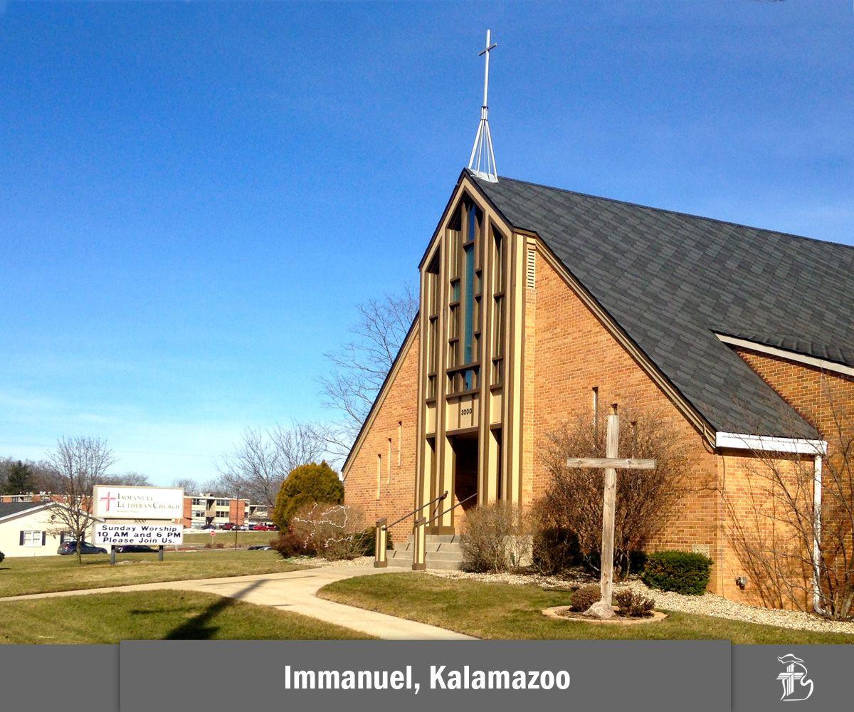 Immanuel Lutheran Church in Kalamazoo, Michigan http://www.immanuelkzoo.org/ #LCMS