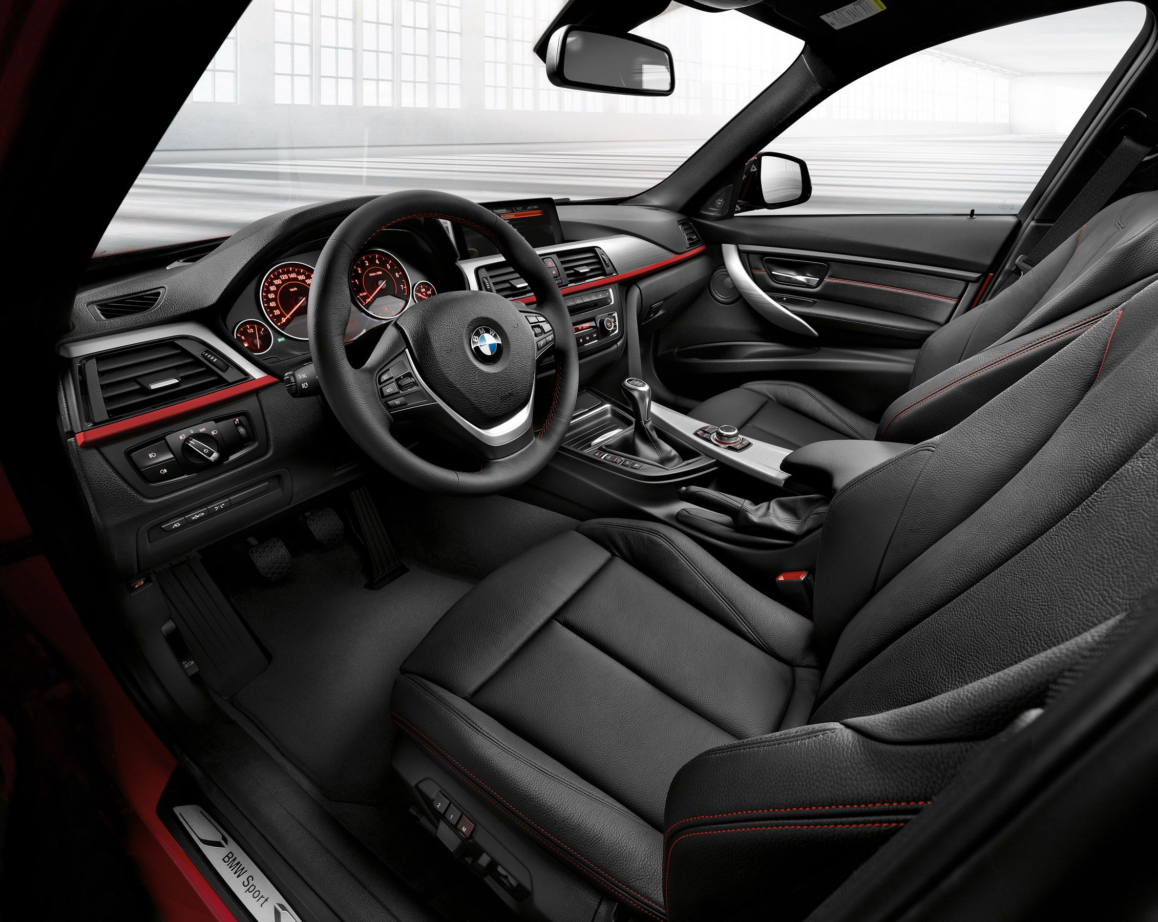 Image For Bmw Sports Wagon Black Dakota Sport Line Interior