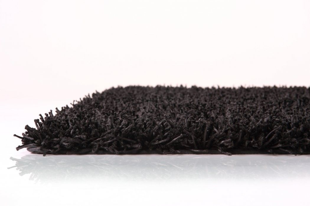 Lovely Black Fluffy Carpet   Modern Contemporary Black Shaggy Rugs And Carpets # Carpet #rug Good Looking