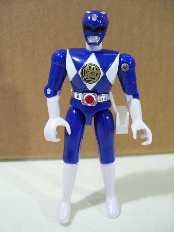 classic blue power ranger power rangers action figure. Black Bedroom Furniture Sets. Home Design Ideas