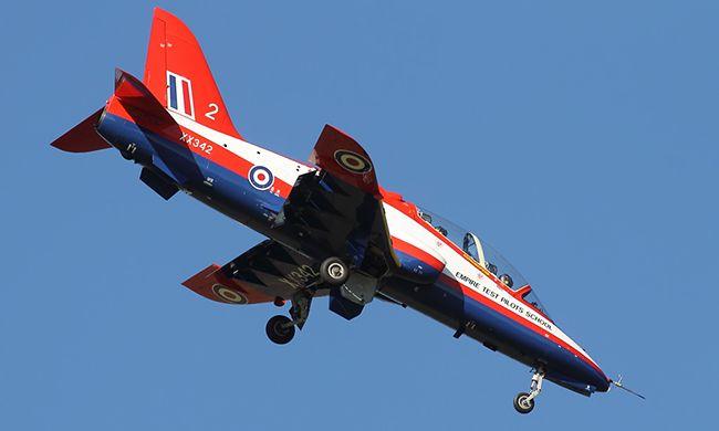 BAe Hawk, Empire Test Pilots School, RAF.