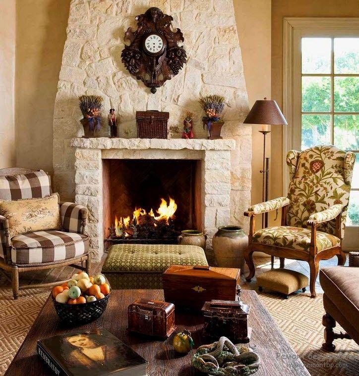 цитата вся картинки уютный дом с камином всё-таки посёлок