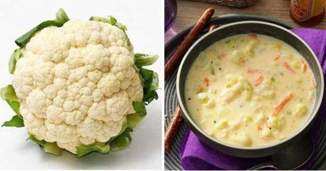 Photo of Best cauliflower soup with carrot and cheese in 30 minutes …