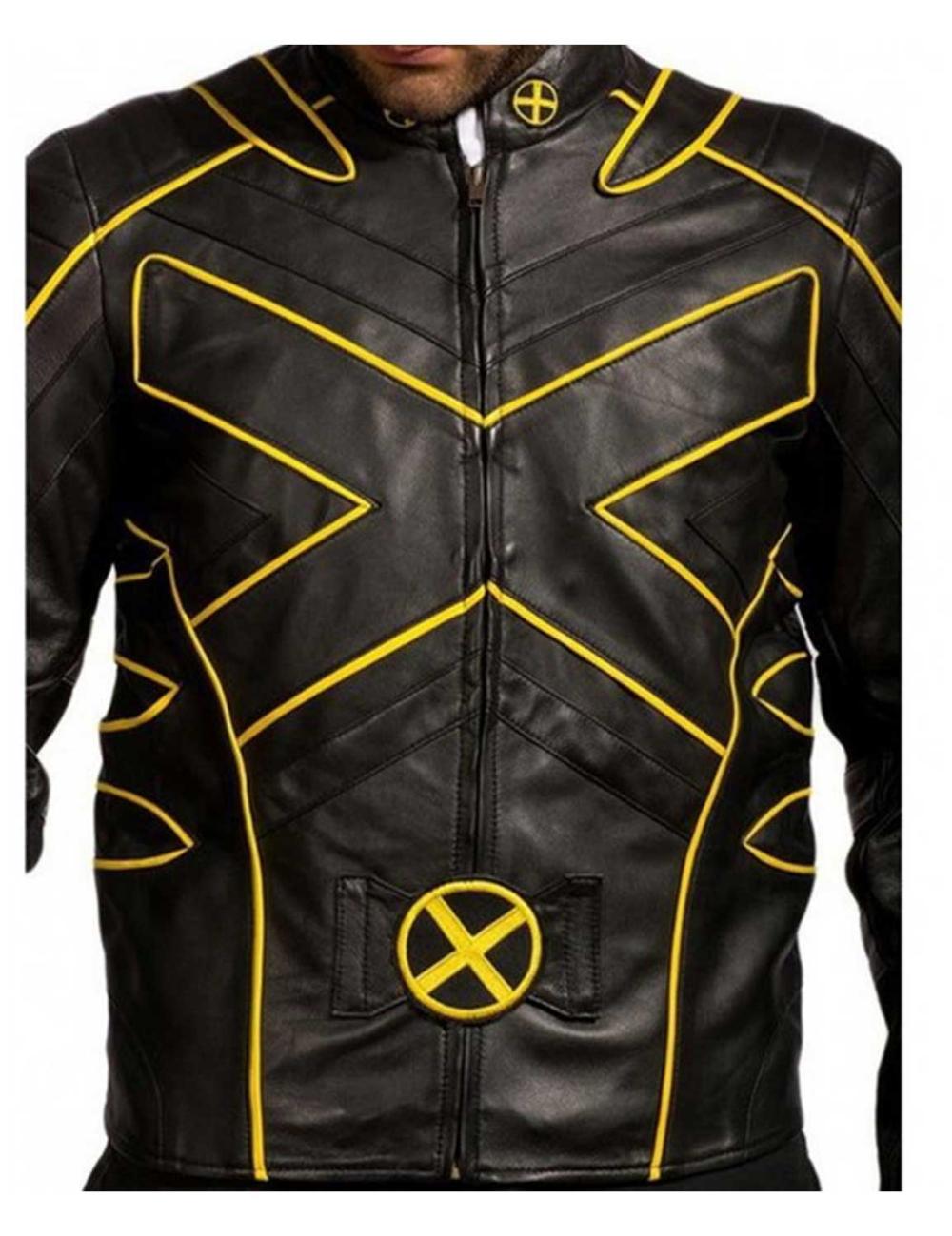X Men The Last Stand Hugh Jackman Jacket Hugh Jackman Men Logo Jackets [ 1299 x 1000 Pixel ]