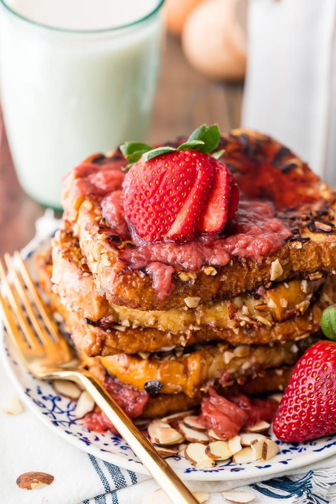 This FRENCH TOAST WITH ALMOND MILK is a great DairyFree