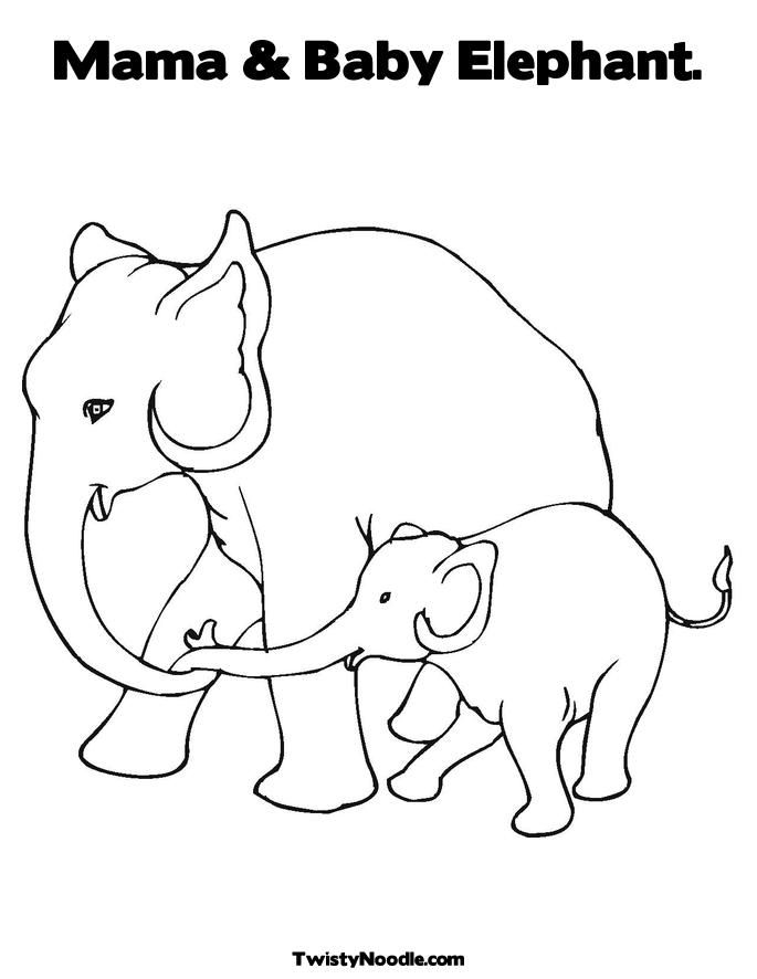 Obama Coloring Pages Az Coloring Pages Mammals Elephant
