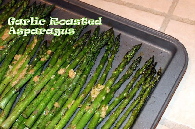 Garlic Roasted Asparagus Recipe (Easy and Delicious!) - Harris Sisters GirlTalk