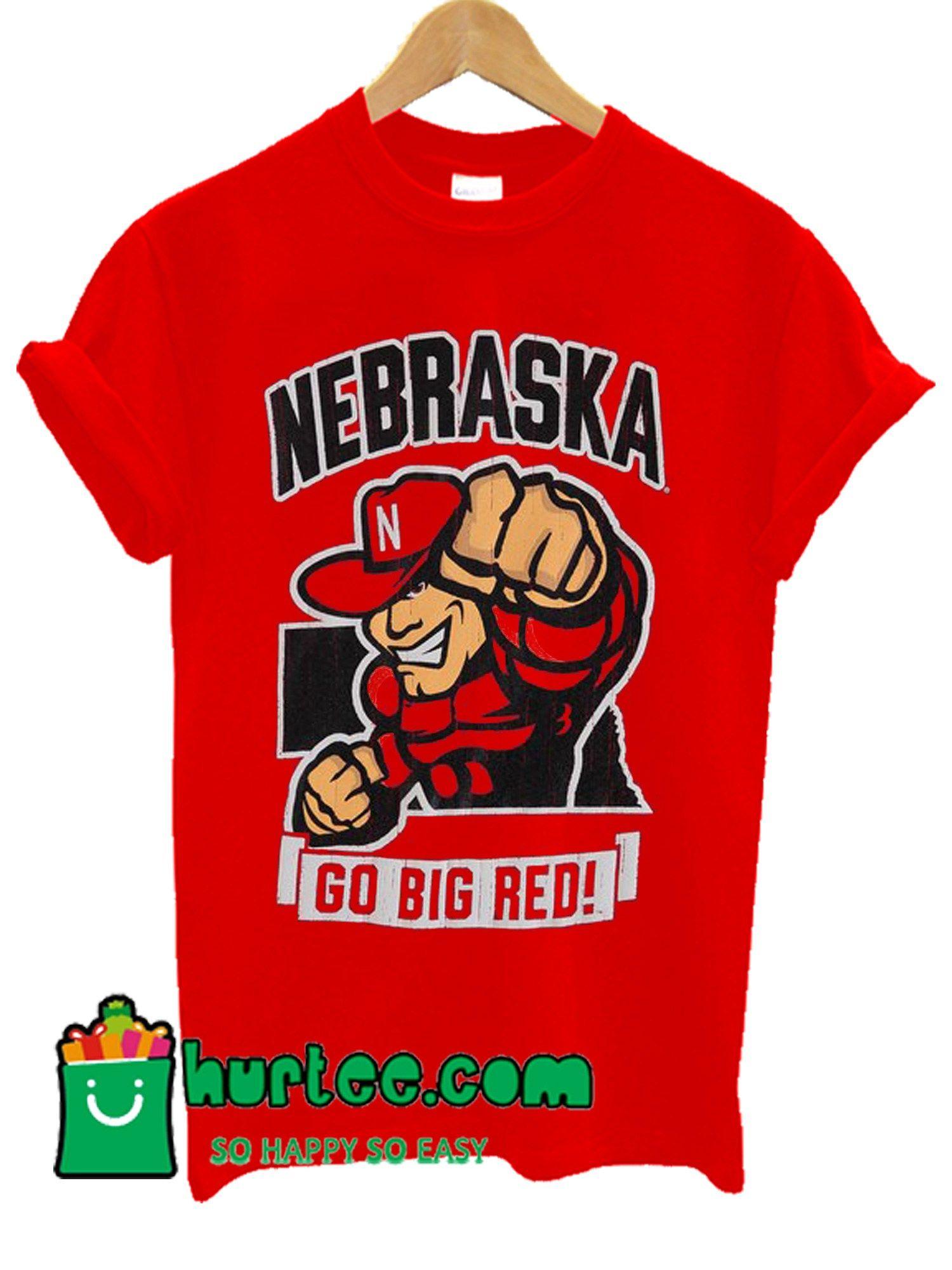 b7103724915 Scarlet Nebraska Cornhuskers Strong T shirt