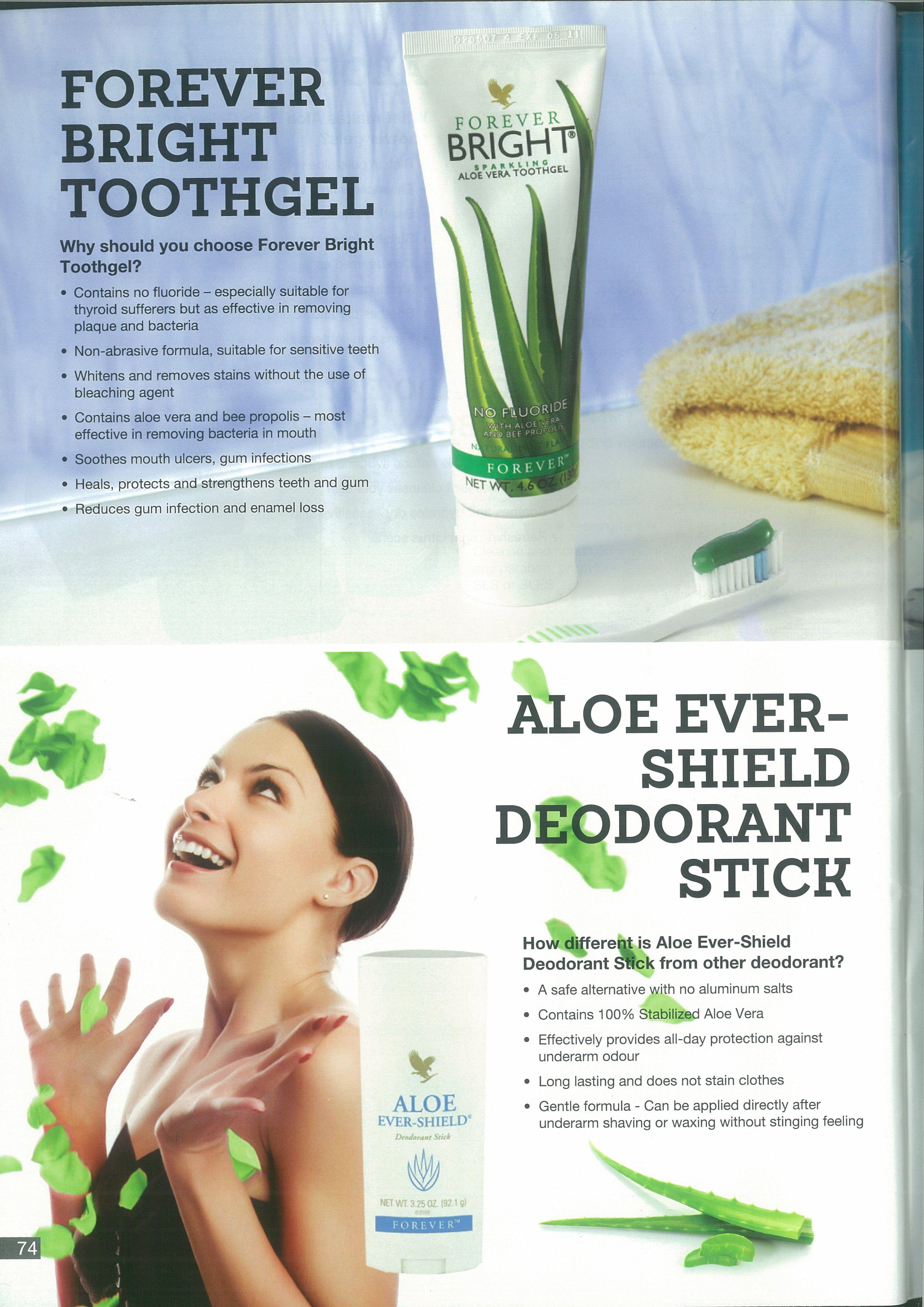 Forever Bright Toothgel For Beautiful Bright Teeth Forever Living Aloe Vera Forever Living Products Forever Products
