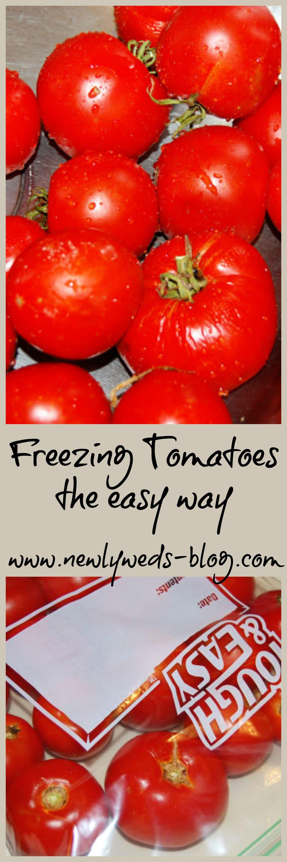 Freezing tomatoes newlyweds freezing tomatoes frozen