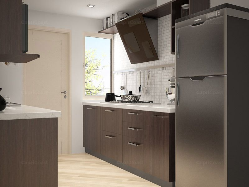 Best Parallel Dilegno Modular Kitchen On Capricoast Is 400 x 300