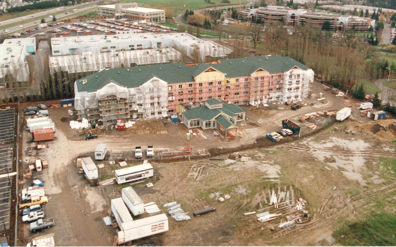Hilton Garden Inn Beaverton OR under construction Hotels