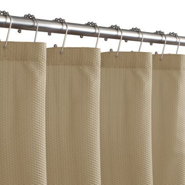Maytex Microfiber Textured Shower Curtain Liner  found at @JCPenney. In grey.
