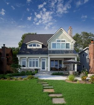 Clareville | Lake Front Homes for narrow Lot | Pinterest | Interior ...