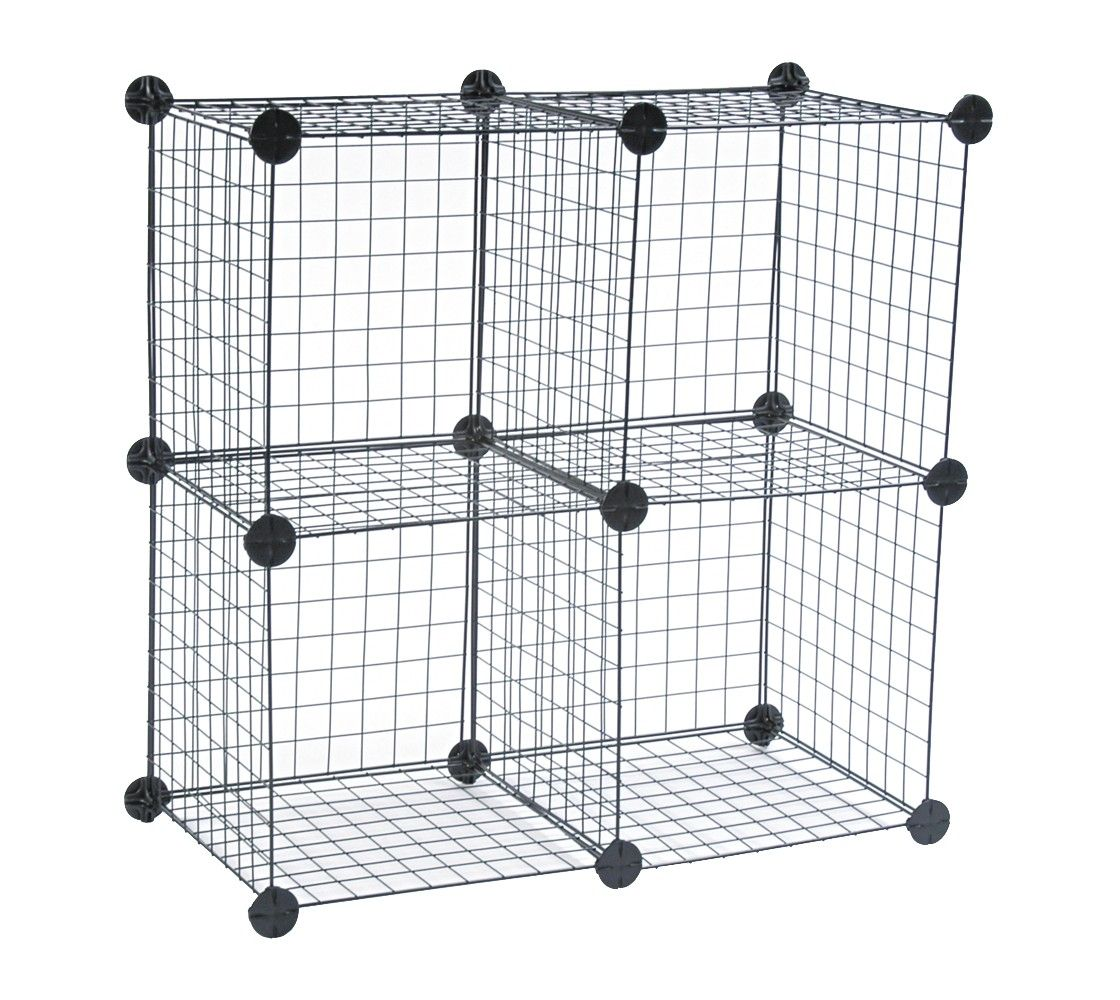 Wire Cube Shelving System For A Hedge Hog Cage Cube Storage Safco Shelving Systems
