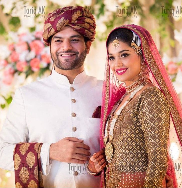 Sanam Jung On Her Wedding Latest Fashion For Women Celebrity Look Bridal