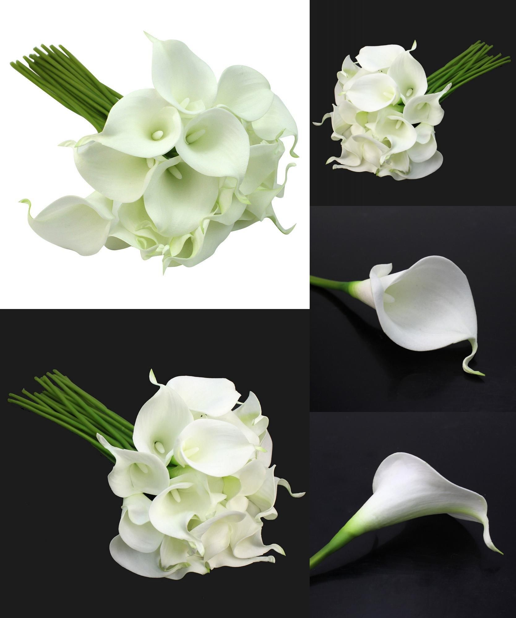 Visit To Buy Nhbr Calla Lily Bridal Wedding Party Decor Bouquet 20