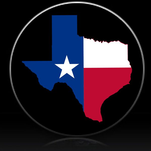 Texas Flag State Outline Spare Tire Cover Custom Tire Covers Western Wall Art Texas Flags Tire Cover