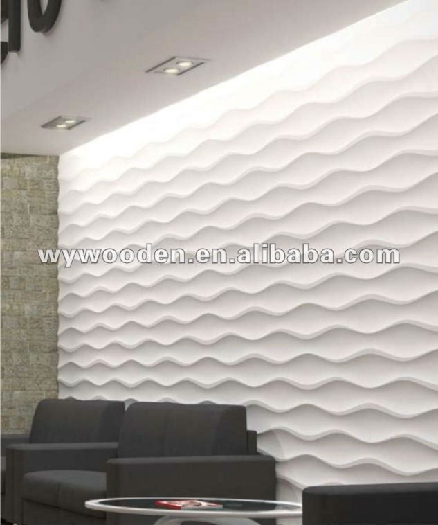 Mdf Wave Pattern Panels View Mdf Wave Pattern Panels Weiyi Product Details From Foshan Weyoo Woodwork Manu Wall Cladding Home Interior Design Mdf Wall Panels