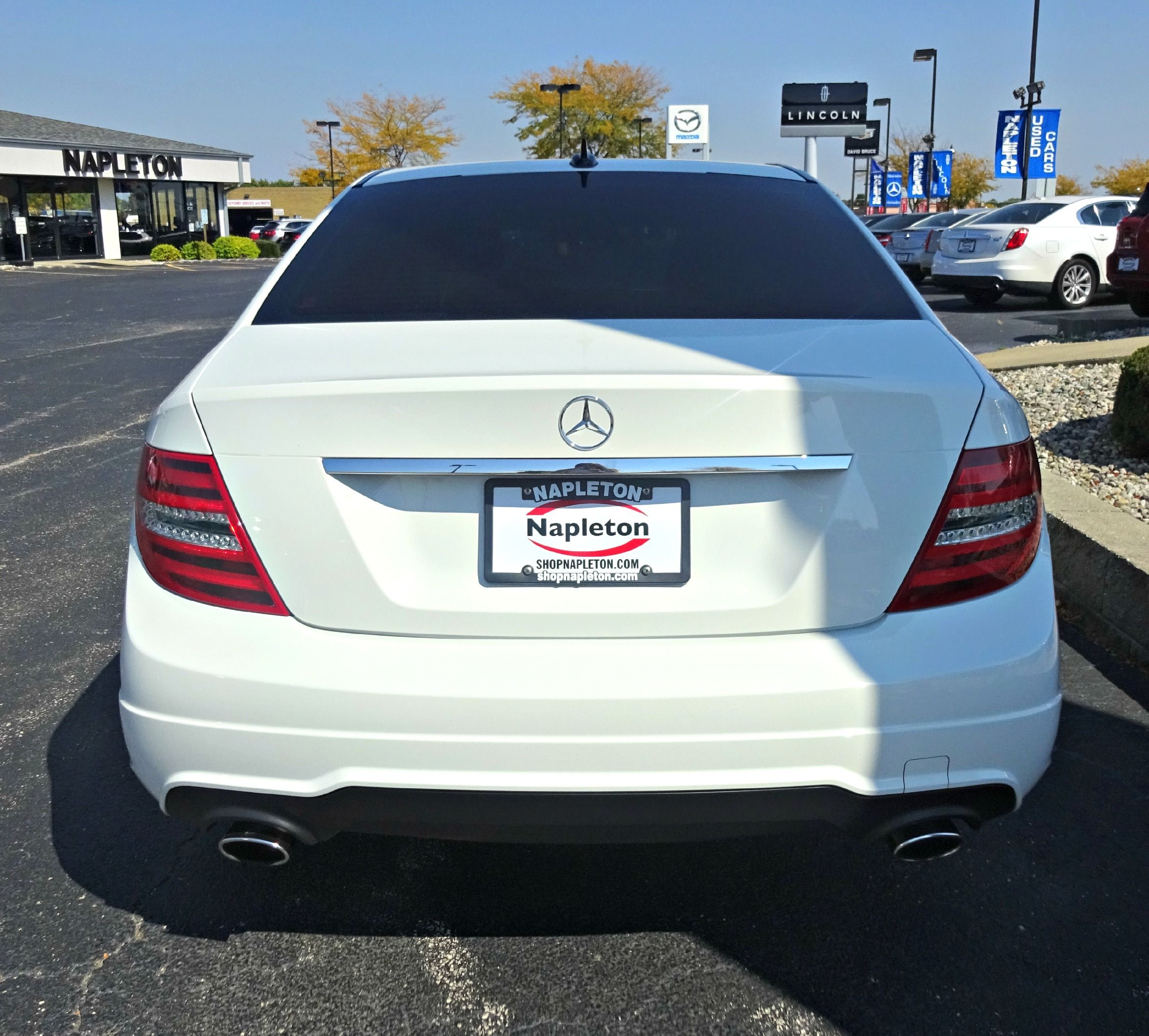 Used 2012 Mercedes Benz C Class C300 Sport In Arctic White With