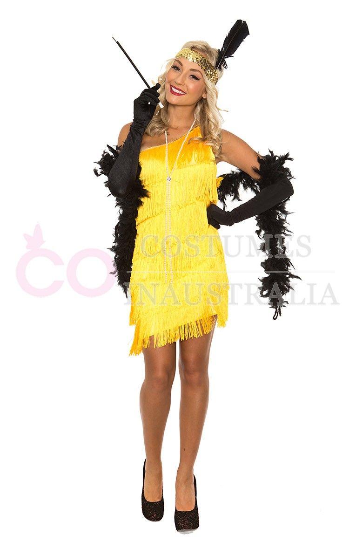 Womens 1920s flapper dress fancy dress costume adult flapper dress - Wear This Classic 1920s Flapper Fancy Dress Costume And Be