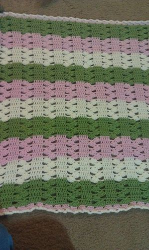 Crochet Blanket Pattern Light and Lacy   Crochet   Pinterest ...