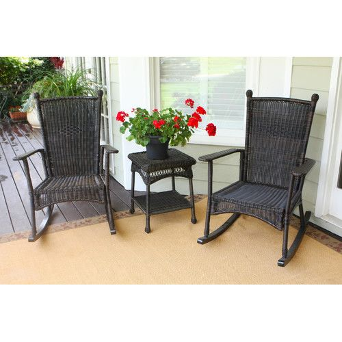 Found It At Wayfair Baden 3 Piece Rocker Seating Group With Cushions Front Porch Furniture Porch Furniture Porch Chairs