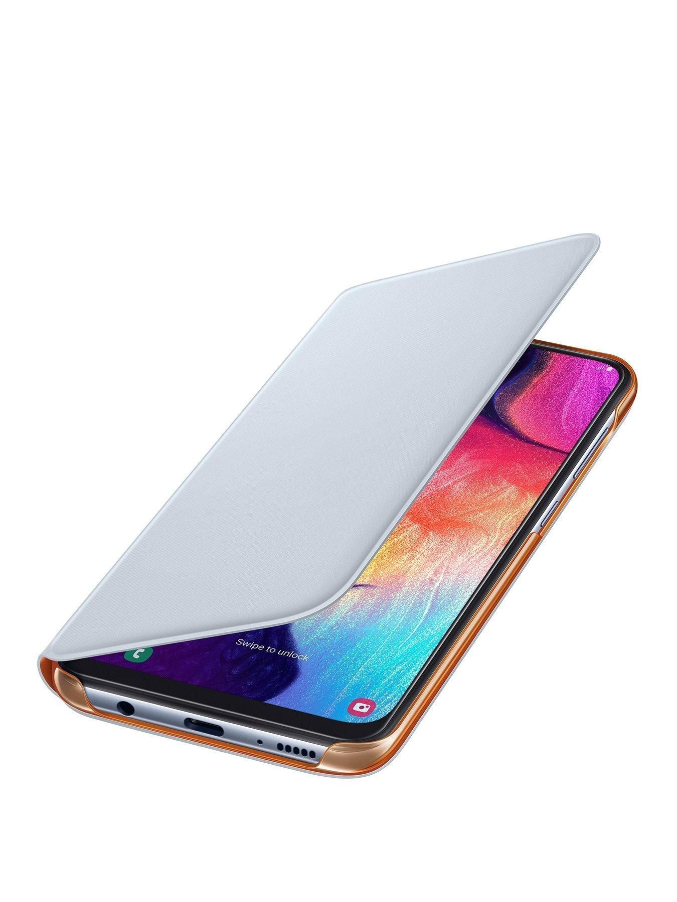 Galaxy A50 Wallet Cover White In 2020 Samsung Samsung Galaxy Galaxy
