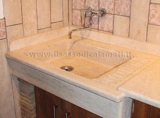 lavello da cucina in pietra | Kitchen | Pinterest