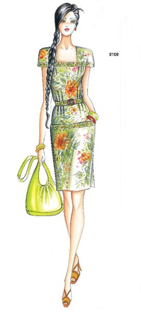 New Marfy Designs for 2013 | Modezeichnungen und Kleider