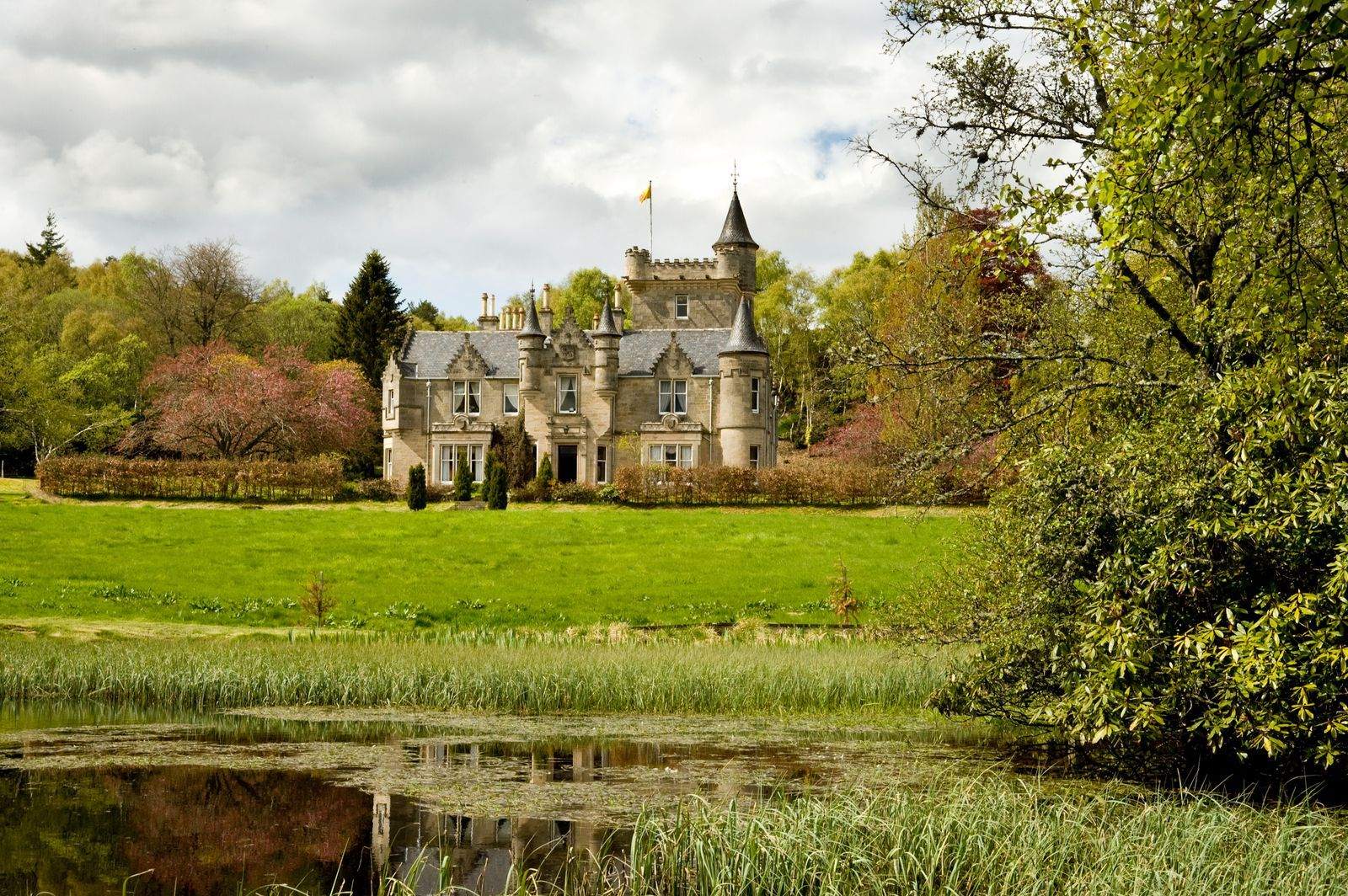 This sprawling Scottish mansion for sale is the same price ...