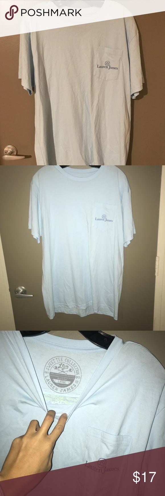 Lauren James Short Sleeve T-Shirt NWOT. In excellent condition. Lauren James Tops Tees - Short Sleeve