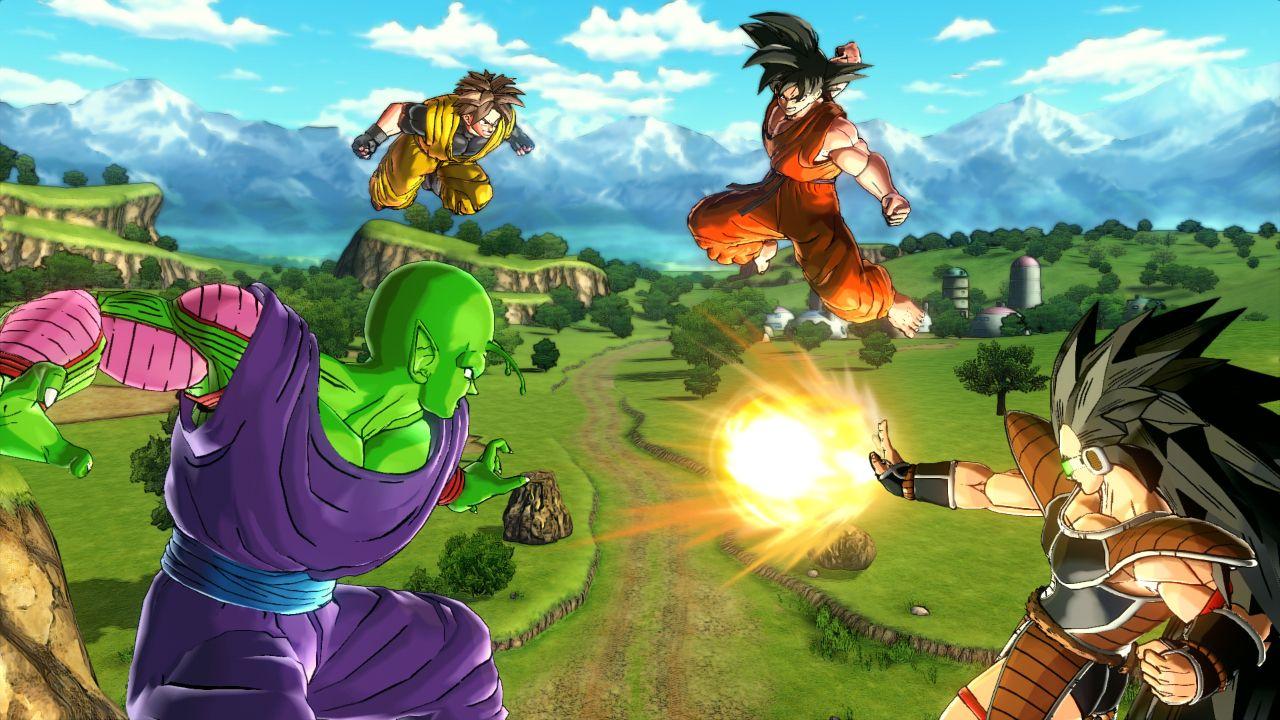 Dragon Ball Xenoverse (PS4) Dragon ball, Fighting games