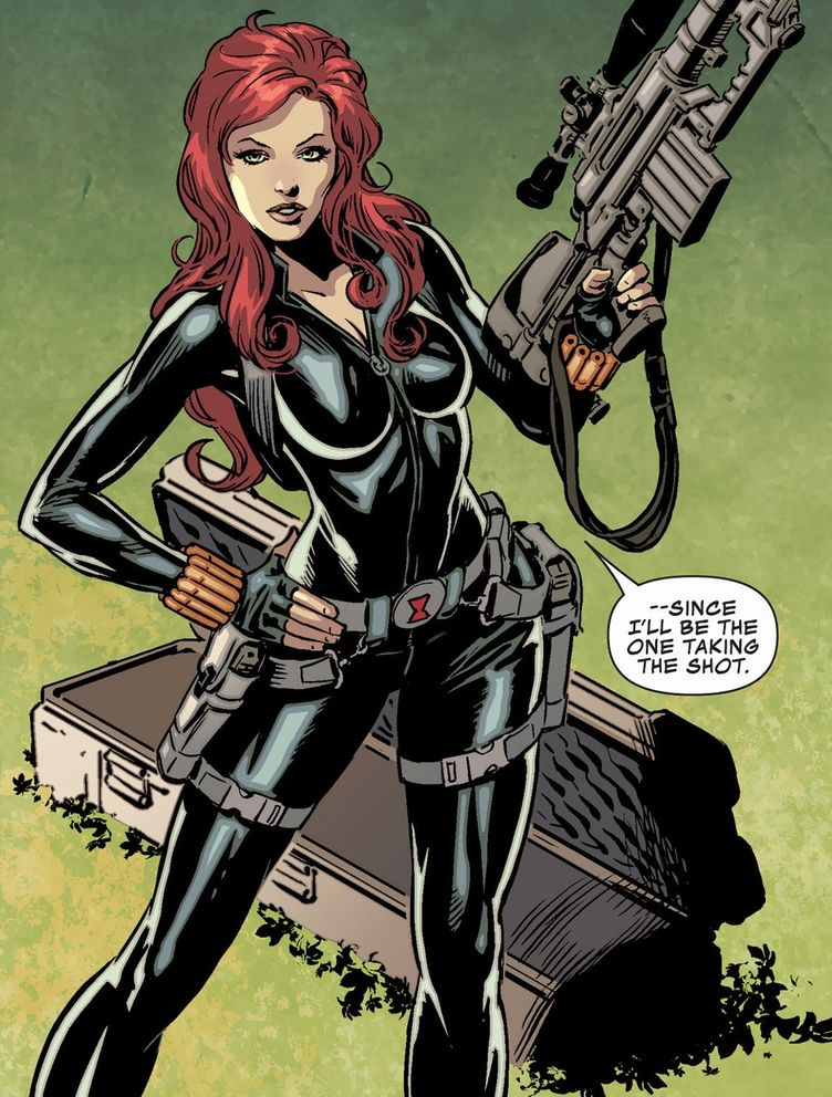 Comic/Manga Battle: Black Widow vs Revy - Battles - Comic