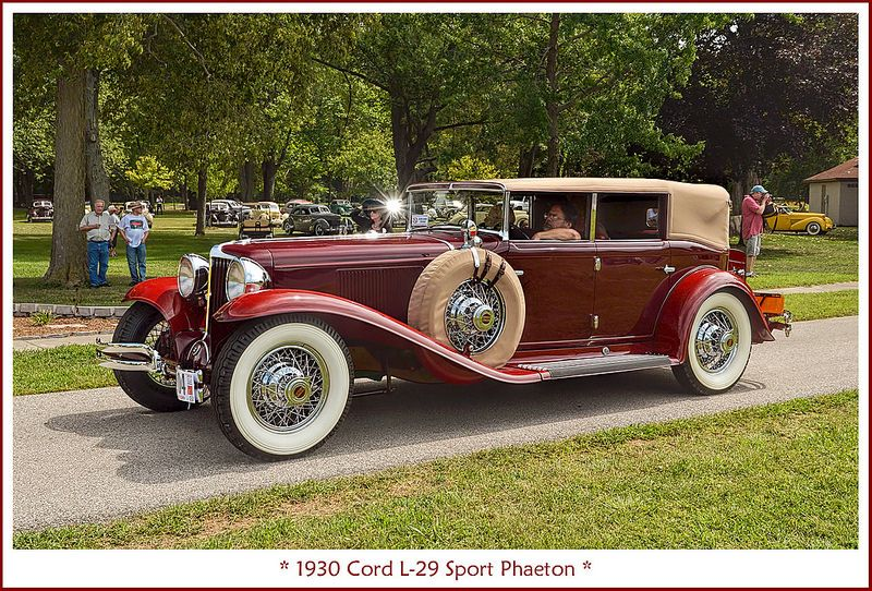 1930 Cord L 29 Sport Phaeton Classy Cars Unique Cars Car