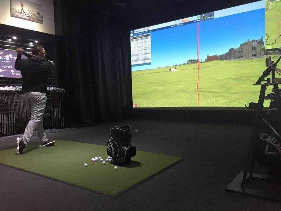 Par 2 Pro SQ HD Golf Simulator Screen Material and Archery