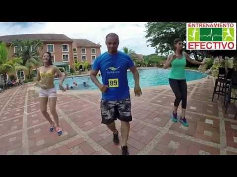Entrenamiento Efectivo - Baile aeróbico quema calorías
