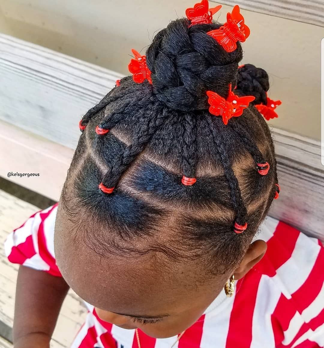 "#kidshairstyles #kidsbraids on Instagram: ""FEATURED @kelsgorgeous FOLLOW @kissegirl💋Beauty Brand💋Hair, Skin, & Nails . . .  #browngirlshair #cutekidsbraids #braidsfordays #braidsgang…"""