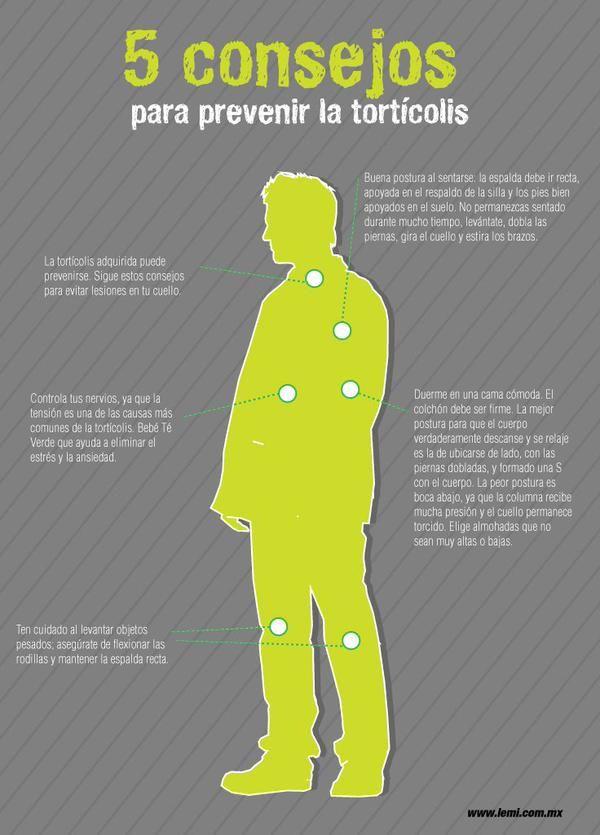 5 Consejos Para Prevenir La Tortícolis Fisioterapia Consejos Para La Salud Salud Y Bienestar Salud