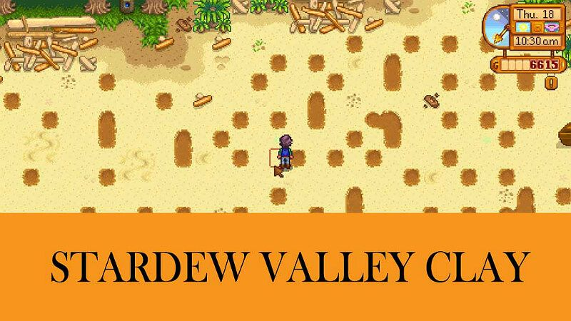 Clay Stardew Valley Stardew Valley Valley Valley Game