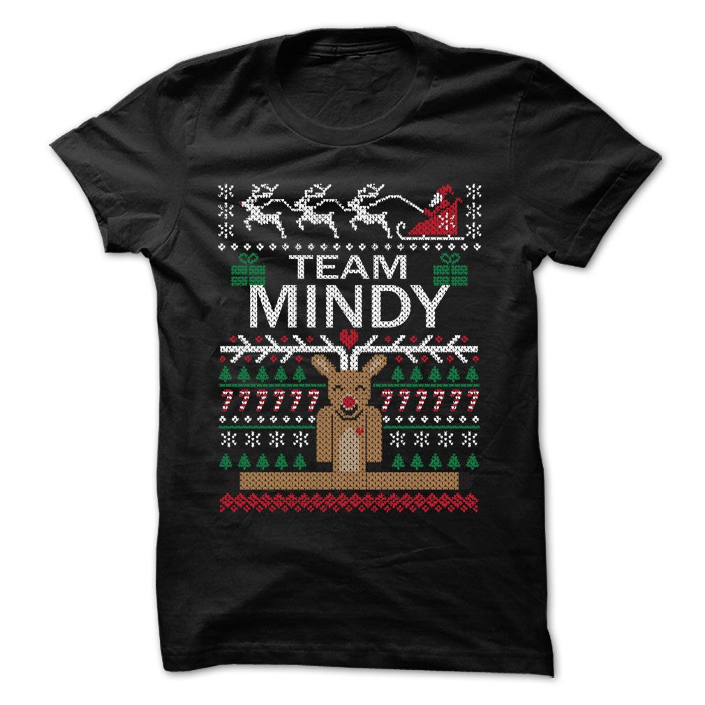 Team MINDY Chistmas - Chistmas Team Shirt !