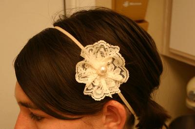 Easy lace headbands
