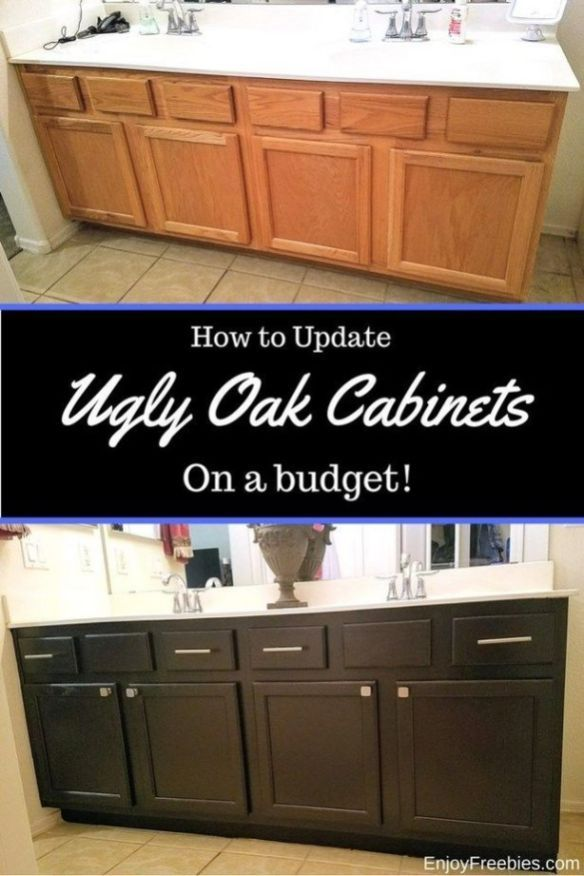38 + A Review of Oak Cabinet Makeover Without Painting Gel Stains - Bathroom cabinets diy, Bathroom cabinet makeover, Oak cabinets, New kitchen cabinets, Diy bathroom, Cabinet - Table of Contents The Tried and True Method for Oak Cabinet Makeover Without Painting Gel Stains in Step by Step DetailWhat You Must Know About Oak Cabinet Makeover Without Painting Gel StainsOak Cabinet Makeover Without Painting Gel Stains   OverviewOak… Continue Reading →