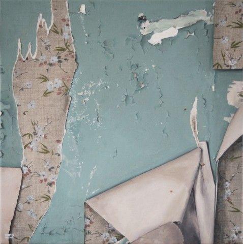 Abandoned Walls | Ineke Kamps | Painting and Photography