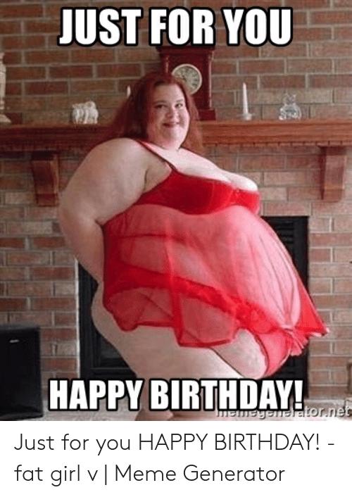 Fat Woman Happy Birthday : woman, happy, birthday, Funny, Happy, Birthday